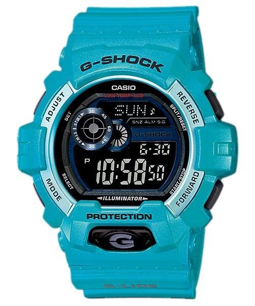 Часы электронные наручные мужские Casio G-SHOCK GLS-8900-2DR, Механизм: Кварц, Браслет: Ремешок из пластика, З