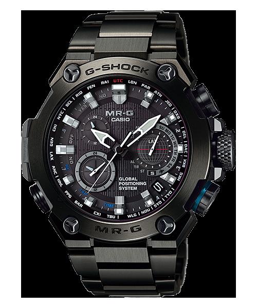 Часы электронные наручные мужские Casio G-SHOCK MRG-G1000B-1A, Механизм: Кварц, Браслет: Да, из прочного титан