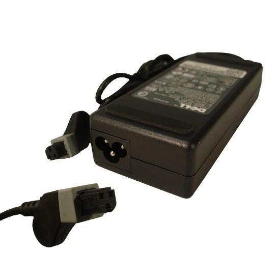 Блок питания для ноутбука Dell 20В\4,5А (90W), Разъем выходной: Квадратный, трех пиновый разъём, Разъем входно
