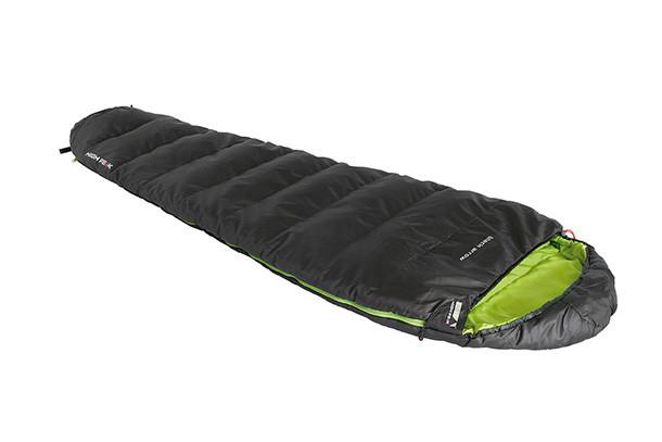Спальный мешок трекинговый, кемпинговый High Peak BLACK ARROW, Форм-фактор: Кокон, Мест: 1, t°(комфорта): +8°С