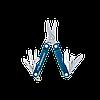 Мультитул брелок Leatherman Micra, Кол-во функций: 10 в 1, Цвет: Синий, (MICRA), фото 2