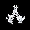 Мультитул брелок Leatherman Micra, Кол-во функций: 10 в 1, Цвет: Серебристый, (MICRA), фото 2