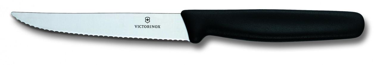 Нож для стейка Victorinox Steak knife, Длина клинка: 110 мм, Материал клинка: Нержавеющая сталь, Материал руко