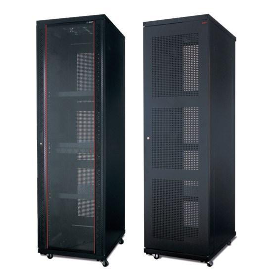 """Шкаф серверный напольный разборный SHIP 124 601.8842.24.100, Вместимость: 42Ux19"""", Глубина: 800мм, Нагрузка (m"""