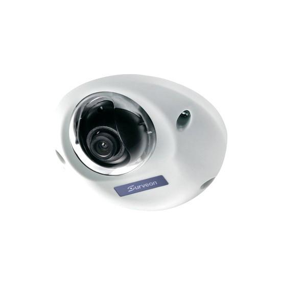 Камера IP купольная Surveon CAM1320, Разрешение: 2 Mpi dpi, Тип объектива: фиксиронанный, f=4.2 мм, Цвет: Беже