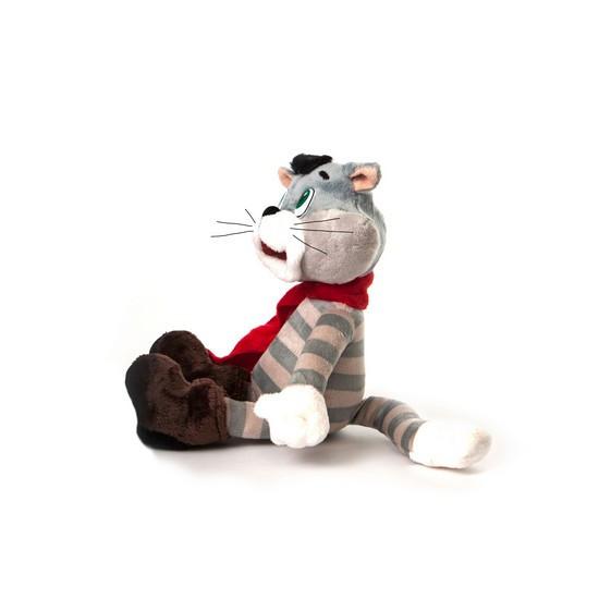Мягкая игрушка DreamMakers Союзмультфильм Кот Матроскин Трое из Простоквашино , Воспроизведение звуков: Да, (К