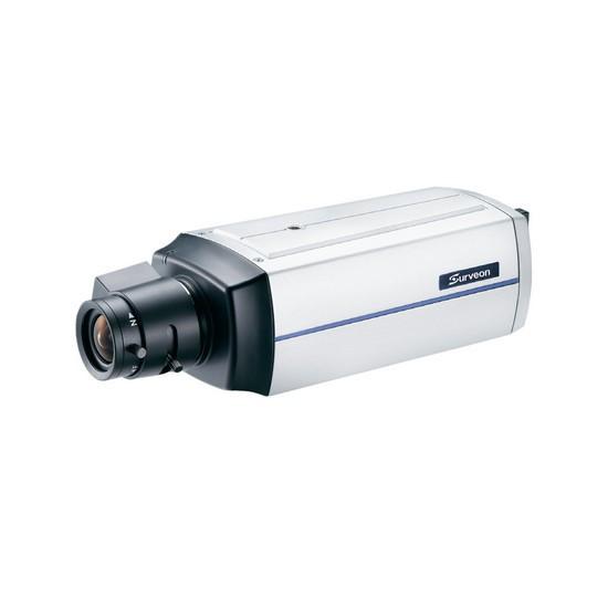 Камера IP классическая Surveon CAM2311, Разрешение: 2 Mpi dpi, Тип объектива: сменный C/CS, Цвет: Белый