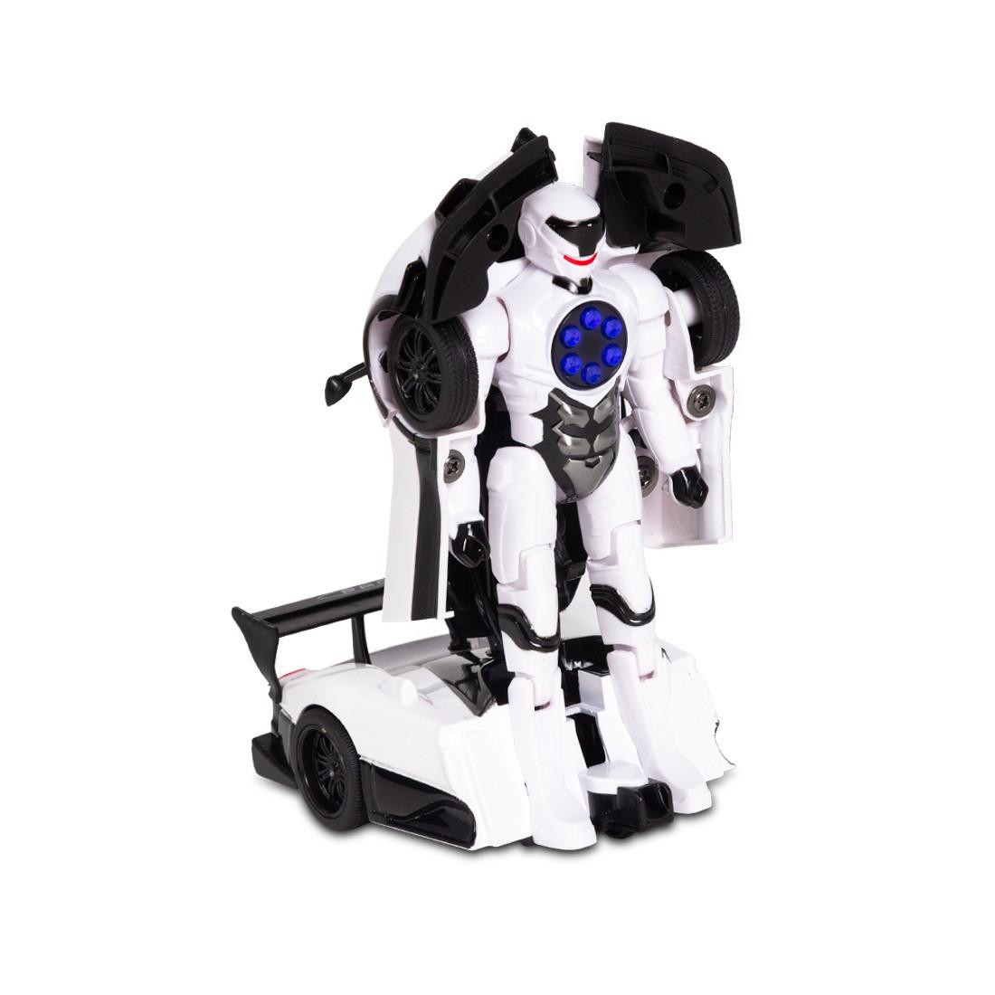Игрушка трансформер Rastar Pagani Zonda R, Трансформации: Робот, автомобиль, Цвет: Белый, (61900W)