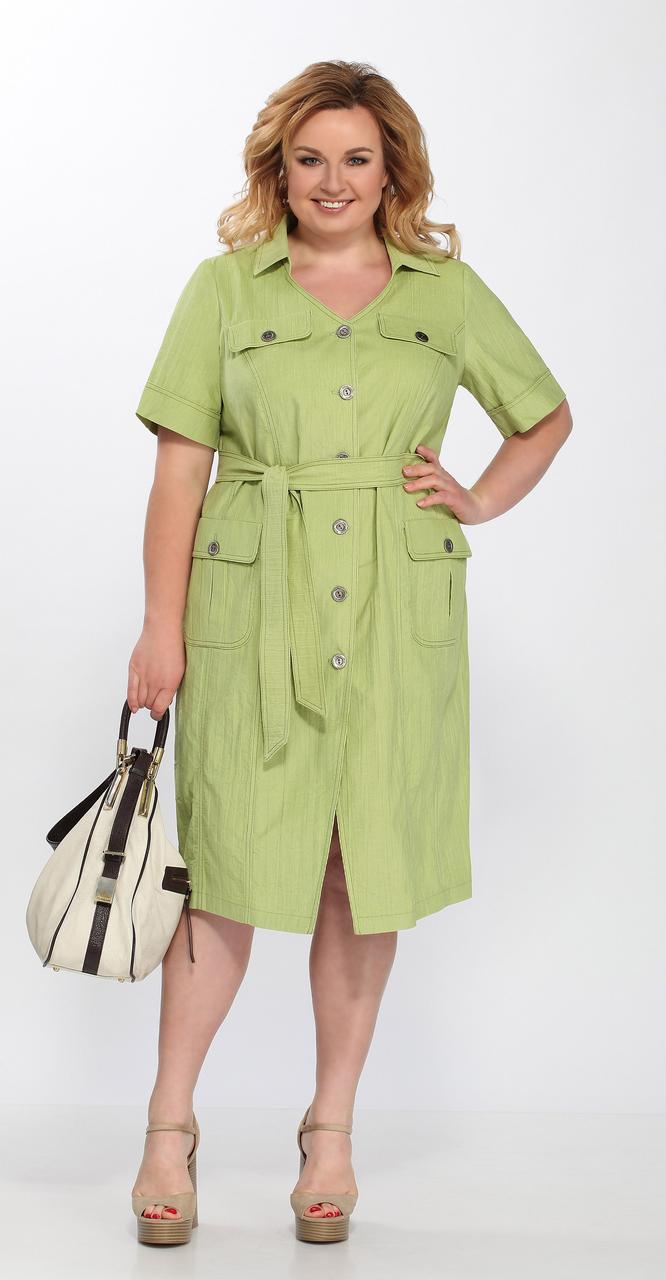 Платье Lady Secret-3581/3, салат, 54