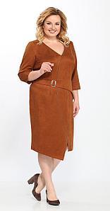 Платье Lady Secret-3546, светло-коричневый, 54
