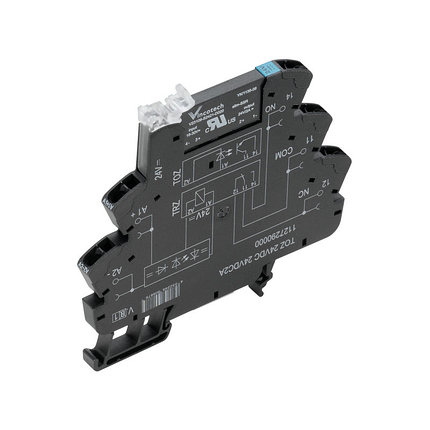 Твердотельные реле TOZ 24VDC 230VAC1A, фото 2