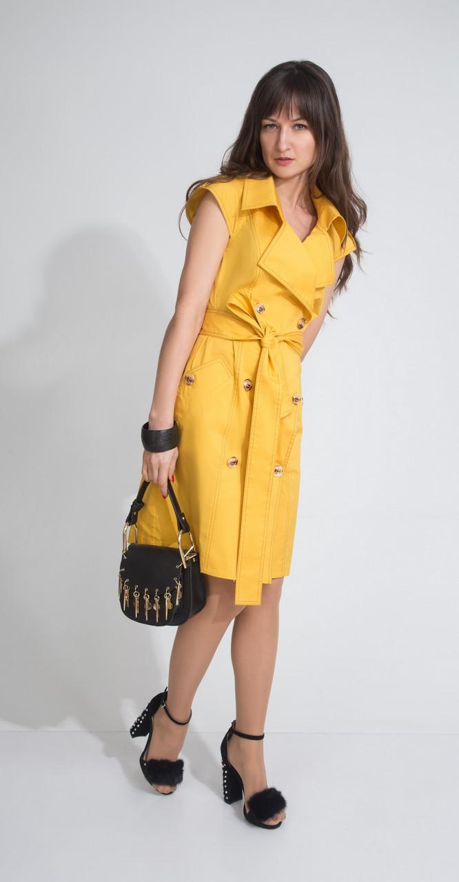 Платье ElPaiz-412, желтый, 42