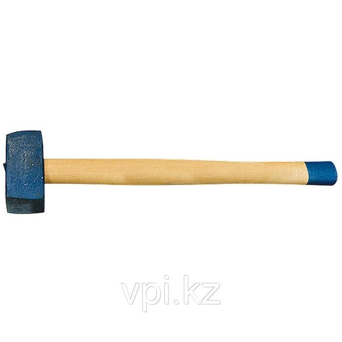 Кувалда, кованая головка, деревянная рукоятка, 6000г. (Труд) Россия