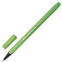"""Ручка капиллярная BRAUBERG """"Aero"""", трехгранная, металлический наконечник, 0,4 мм, светло-зеленая, 142250, фото 1"""