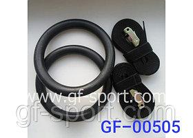 Кольца гимнастические пластиковые на стропе 00505