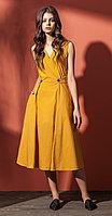 Платье Nova Line-5803, горчица, 42