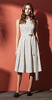 Платье Nova Line-5814, горохи, 42