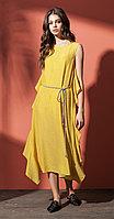 Платье Nova Line-5817, желтый, 42