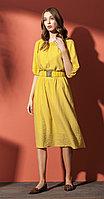 Платье Nova Line-5834-1, желтый, 42