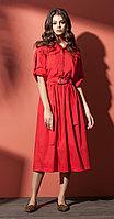 Платье Nova Line-5844, красный, 42