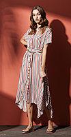 Платье Nova Line-5858, полоска, 42