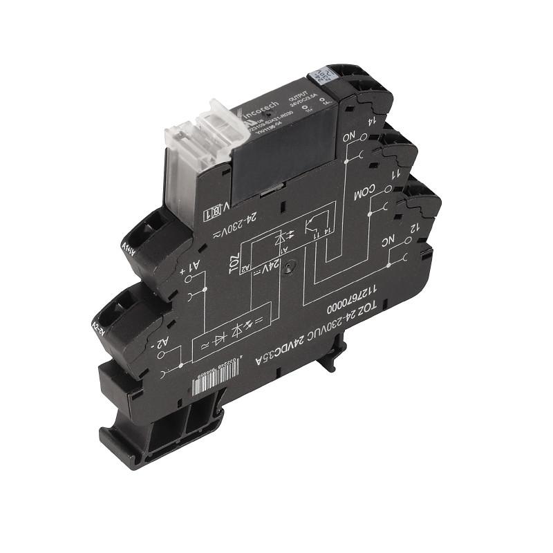Твердотельные реле TOZ 24-230VUC 24VDC3,5A