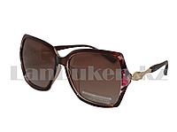 Солнцезащитные очки  HD Polarized, тигрово-коричневые с антибликовым и гидрофобным эффектом., фото 1