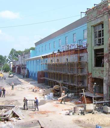 Реконструкция зданий и помещений