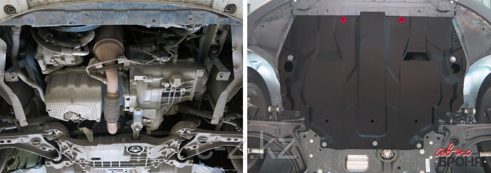 Защита картера и КПП Volkswagen Caddy (2006-2015), фото 2