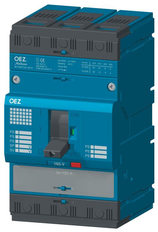Разъединитель нагрузки BC160NT305-160-V OEZ:20585