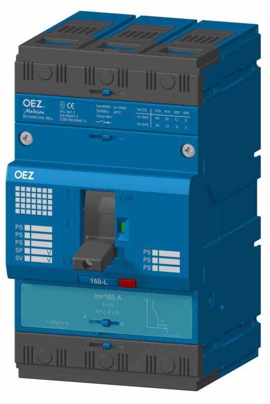 Компактный автоматический выключатель BC160NT405-16-D-BC160NT405-160-D OEZ:33617-OEZ:33601