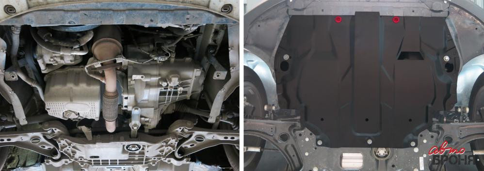Защита картера и КПП Volkswagen Touran (2004-2015), фото 2