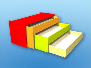 Шкафы, кровати, столы и стулья