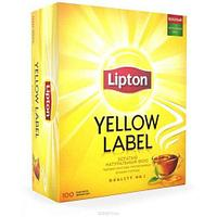 Чёрный чай «Lipton» 100 пакетиков