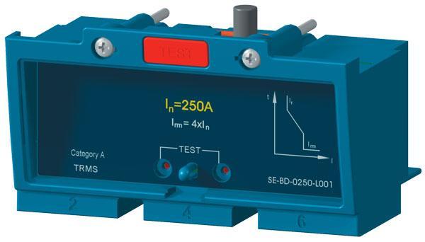 Расцепитель максимального тока SE-BD-0250-L001 OEZ:20613