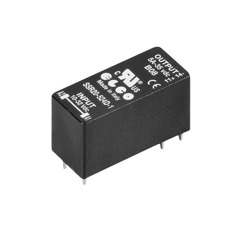 Твердотельные реле SSR 10-32VDC/0-35VDC 5A