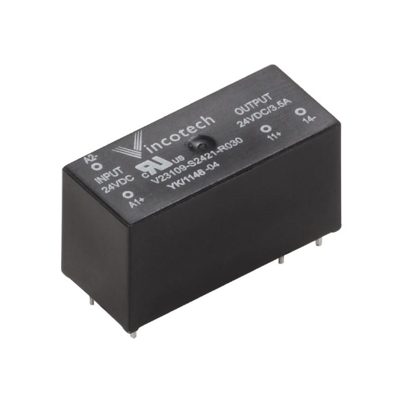 Твердотельные реле SSR 24VDC/max.240VAC 1A