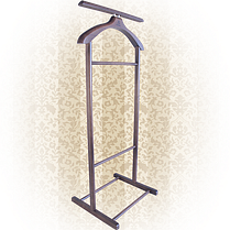 Вешалка для одежды напольная,одинарная Орех, фото 3