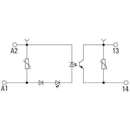 Твердотельные реле TOS 24VDC/24VDC 4A, фото 2