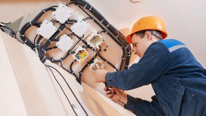 Электро монтажные работы и слаботочных систем