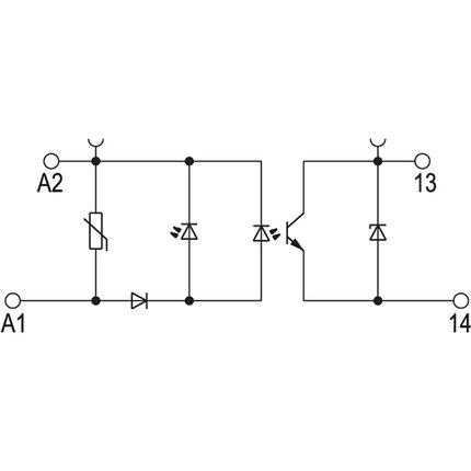 Твердотельные реле TOS 5VDC/48VDC 0,1A, фото 2