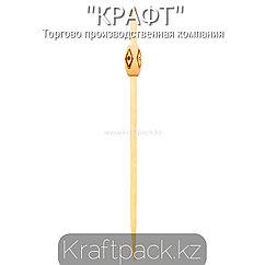 Пика ромб 12 см (100 шт/уп) Бамбук