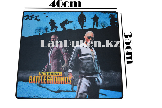 Коврик для мыши G-6 PlayerUnknown's Battlegrounds (синий) 400x350mm