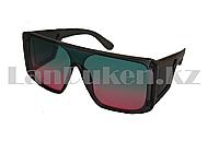 Солнцезащитные очки Ton Ford закрытые по бокам с градиентными голубо-розовыми линзами