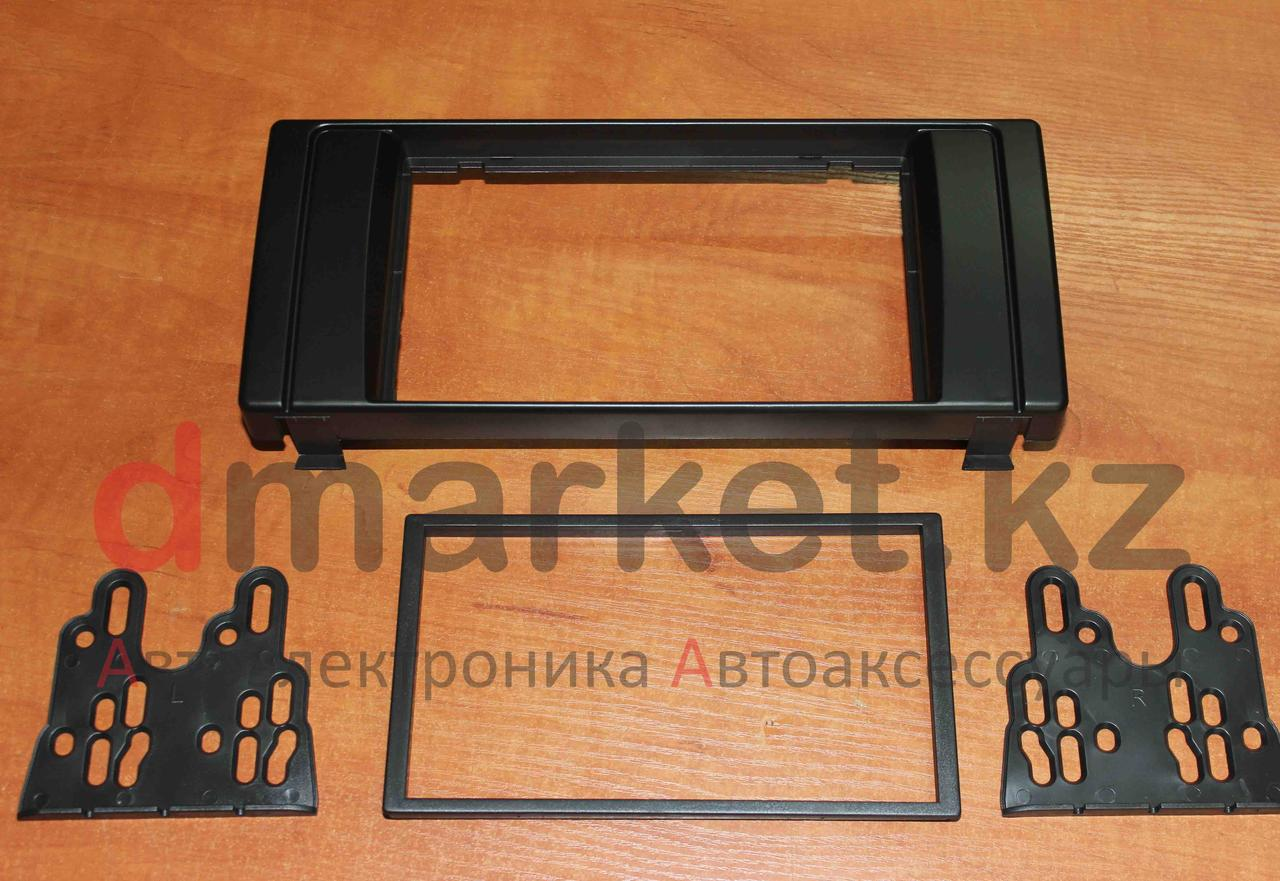 Переходная рамка BMW E38/E39/E53, 2DIN, пластик, черная