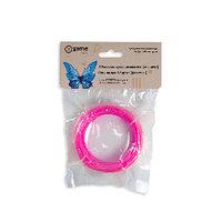 Филамент (нить) для 3D ручки Розовый PLA 10м. Пластик для 3 д ручки