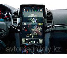 Магнитола CarMedia для Chevrolet Captiva 2013+ TESLA STYLE