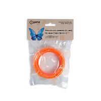 Филамент (нить) для 3D ручки Оранжевый PLA Пластик для 3 д ручки