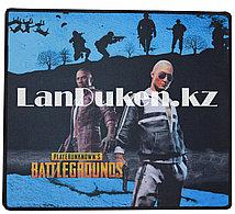 Коврик для мыши G-6 PlayerUnknown's Battlegrounds (синий) большой прямоугольный 400x350mm