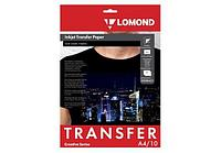 Термотрансферная бумага LOMOND Transfer Paper for dark cloth A4, 10 листов